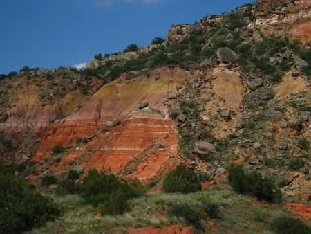 Palo Duro Canyon, Amarillo, Texas