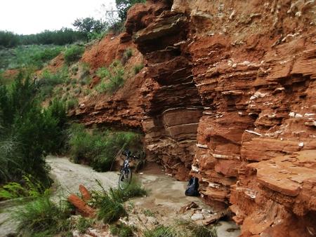 Hiking trail in Palo Duro Canyon, Amarillo, Texas