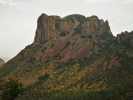 Peaks in Big Bend National Park, Texas