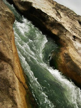 Rapids  on the Pedernales River Austin, Texas Stock fotó