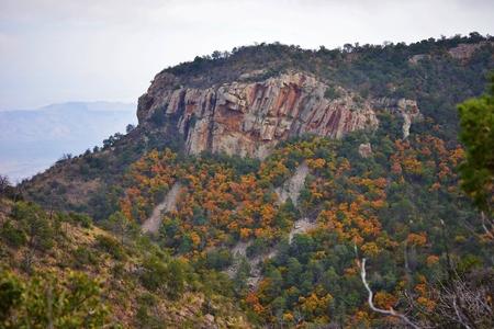 Cliffs at Big Bend National Park, Texas Stock fotó