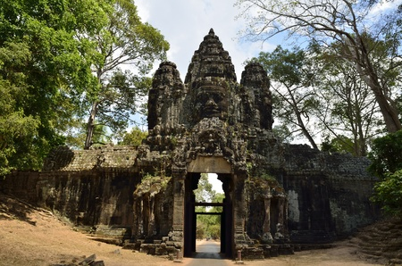 bayon: South Gate of largest city