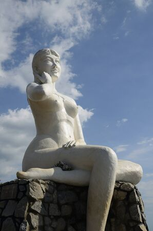 Nude statue Stock Photo - 12849683