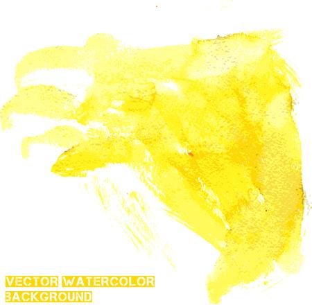 lemony: watercolor background