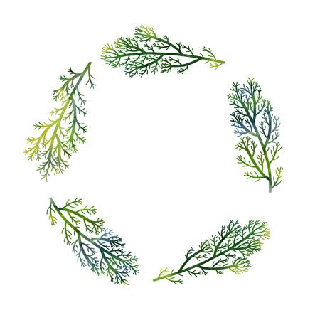 야생 식물, 손으로 그린 그림 꽃 카드, 초대장 템플릿, 녹색 해조류, 수채화 예술 그림 배경 그리기, 수채화 그리기와 꽃 조성 실루엣