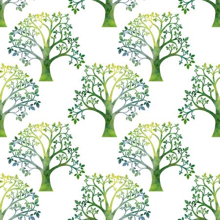La Naturaleza De Fondo Con El árbol De Roble Ramas, Hojas Y Bellotas ...