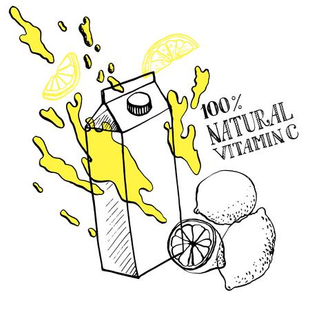 lemon juice: lemon juice sketch