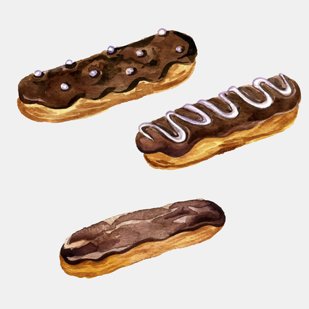 Image result for eclairs clipart