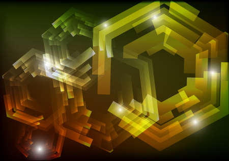 Mechanical abstract background  EPS 10  vector illustration Illustration