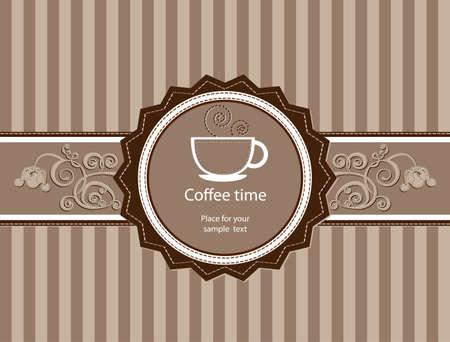 coffeehouse: Coffee background  Menu for restaurant, cafe, bar, coffeehouse