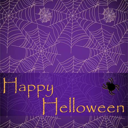 Spider s web   pattern fro helloween Vector