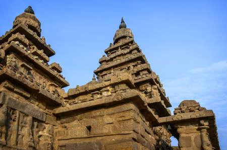 tamil nadu: Famous Tamil Nadu landmark - Ancient Shore temple, world  heritage site in  Mahabalipuram, Tamil Nadu, India