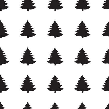 winter holidays: Geometric monochrome seamless pattern Christmas for winter holidays design. Modern Christmas pattern.