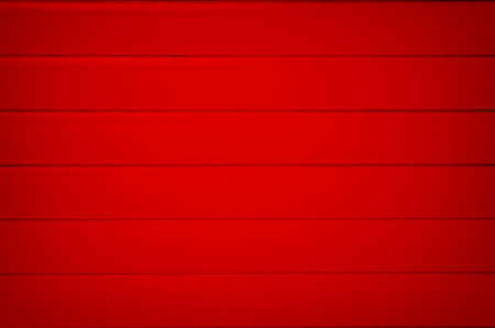rolling garage door: Pattern red corrugated wall.