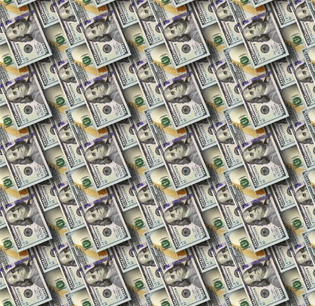 hundred dollar bill: Dollars seamless background. High resolution seamless texture