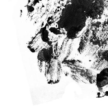 Abstract black ink background.