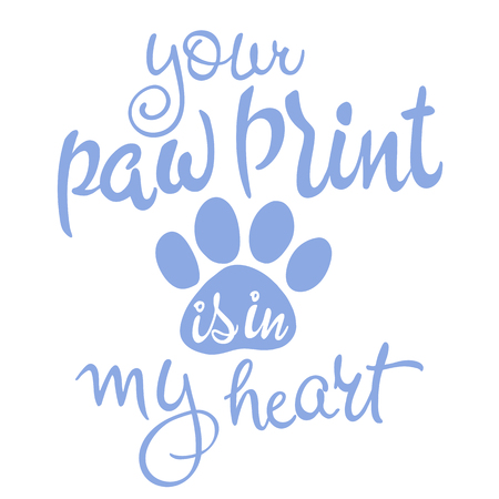 愛ペットのレタリングのベクター イラストです。インスピレーション引用。愛ペットのレタリングのベクター イラストです。インスピレーション引