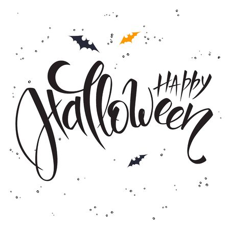 Vector hand lettering halloween greetings text happy halloween vector hand lettering halloween greetings text happy halloween royalty free cliparts vectors and stock illustration image 62632348 m4hsunfo