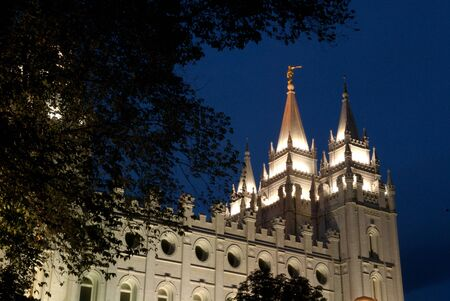 mormon temple: Mormon Temple Salt Lake City