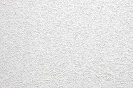 plastered: Plastered white wall texture Stock Photo