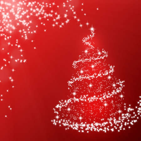 xmas tree: Sparkling Christmas tree