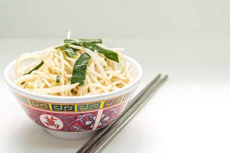 plato del buen comer: Fideos Año Nuevo Chino