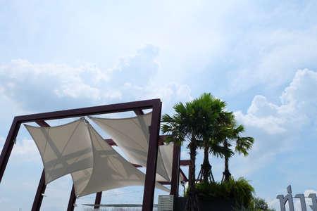 blue sky with cloud,blue sky background,summer landscape sky cloud. Reklamní fotografie