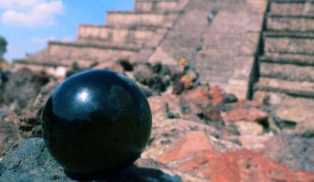 テオティワカンで神秘的なボール