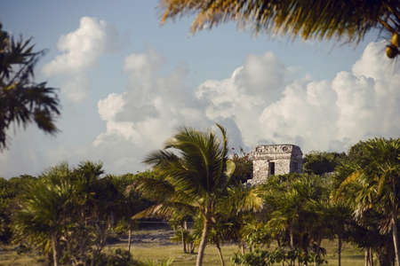 Mexican ruins Tulum