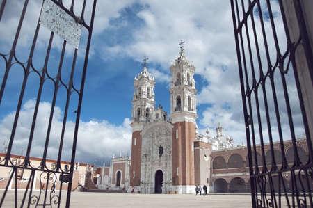 Mexican church Stock Photo