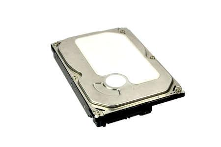 harddisk: Harddisk on a white background.