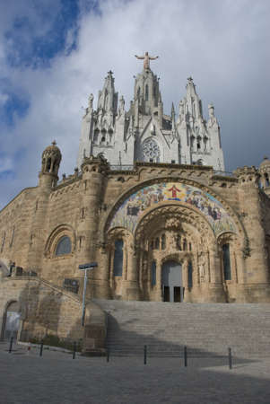 Expiatory Church of the Sacred Heart of Jesus, Barcelona, Spain photo