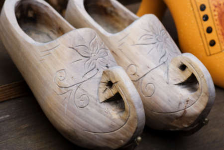 Wooden Clogs Stock Photo - 19241291