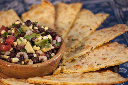 Cowboy Caviar met zelfgemaakte chips