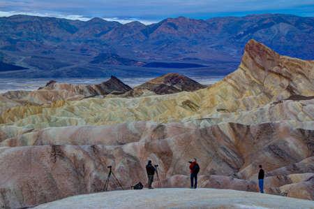 Zabriskie Point, Death Valley, at Sunrise photo
