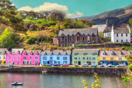 Harbor, Portree, Isle of Skye, Scotland