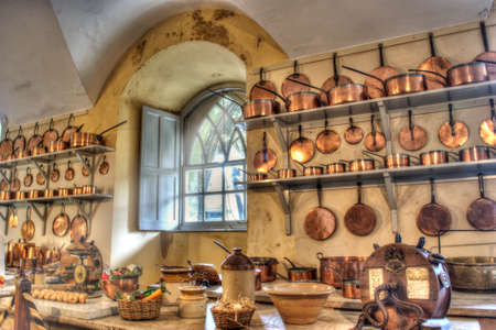 cucina antica: Old Kitchen Editoriali