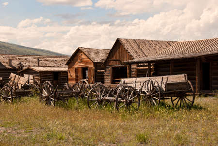 ghost town: Ghost Town, Old Trail Town, Wyoming