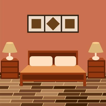 living room wall: Design interior bedroom