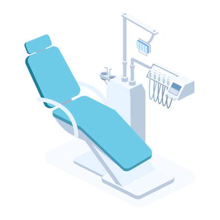 Modern Dental concept Clinic vector isometric illustration. Standard-Bild - 137235521