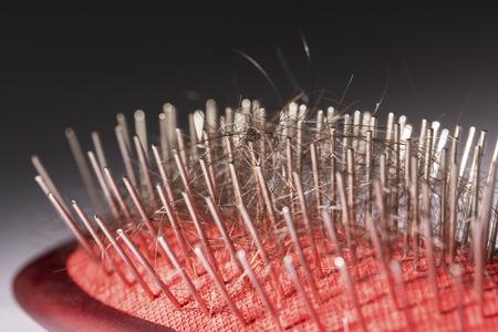 comb: Hair loss problem on comb