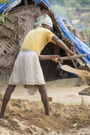 unplanned: India, Tamil Nadu, Pondicherry aera. Rural life in small villages, poverty Stock Photo