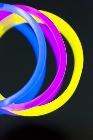 ultraviolet: colorful neon light fluorescent disco bright ultraviolet