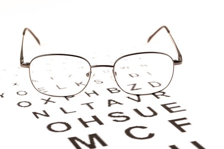 Sight test for glasses, vision testing, ophthalmologist