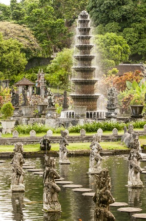 hinduist: Hinduist temple details close-up in Bali Indonesia