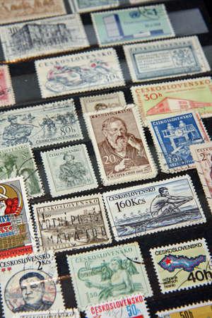 Czechoslovakian stamps (communist era)