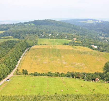 Landscape of south Moravia Stock Photo