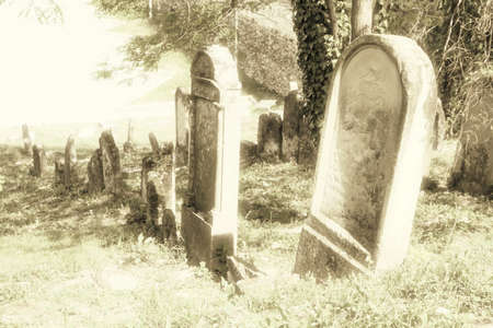 Jewish cemetery in Skalica, Slovakia