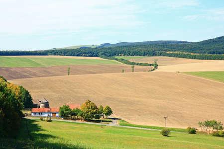 White Carpathians in Moravia, Czech Republic Stock Photo