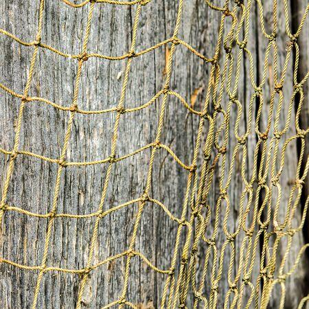 knotting: fishing net Stock Photo